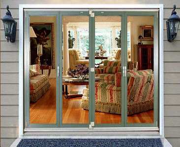 thermally broken folding sliding doors